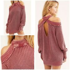 Free People Half Moon Bay Pullover Sweater Size Small NWT