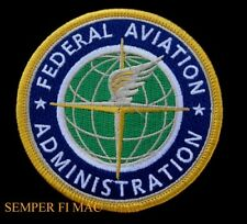 RARE FEDERAL AVIATION ADMINISTRATION FAA PATCH AVIATION PIN UP HAT FLIGHTSUIT