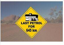 Segnale STRADALE stile australiano Australia Cartello Stradale Novità Divertente OUTBACK scherzo sign