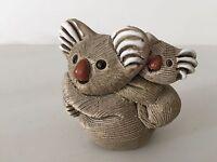 "Vintage Artesania Rinconada Koala Figurine, 3"" Long x 3"" High x 2 1/2"" Wide"