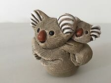 "Vintage Artesania Rinconada Koala Figurine, 3"" Long x 3"" High x 2 1/2"" Wide"