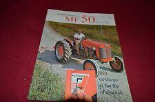 Massey Ferguson 50 Tractor Dealers Brochure YABE6 ver3