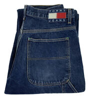 TOMMY HILFIGER Vintage Straight Leg Relaxed Carpenter Jeans Men's Sz 32/32