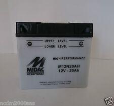 BATTERIE MOTO MORINISport 2C3501973-1982 MIDAC M12N20AH 8003600