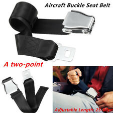 A two-point Styling Aircraft Airplane Seat Belt Adjust Extension Extender Buckle