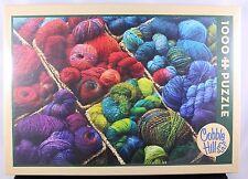 Cobble Hill 1000 Piece Jigsaw Puzzle Plenty Of Yarn USA Made Sewing Knitting New