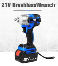 Electric Hand Drill Wrench 21V Impact Wrench Socket 4000mAh Li Battery 2020