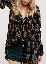 Free People Just the Two of Us Printed Tunic Small