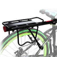 Bike Rear Rack Carry Carrier Holder Seatpost Mount Quick Release Pannier 110lb
