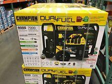 9,000 Watt Duel Fuel Champion Generator Electric Start