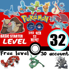 Pokemon-Go-Account-Lvl-32-Basic-Starter | 700K SD | No-Sniped | Email Changeable
