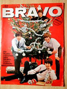 Bravo 52/1965 Komplett - Beatles, Sandie Shaw, Thomas Fritsch -TOP