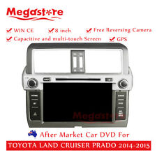 "8"" Car DVD GPS Navi Head Unit Stereo For TOYOTA LAND CRUISER PRADO 2013-2015"