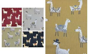 SMD iLiv Alpaca 100% Cotton Fabric for Upholstery/Curtains/Cushions/Crafts