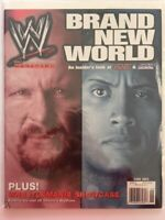 WWE Magazine 2002 June Brand New World Stone Cold Austin The Rock SmackDown! WWF