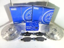 Ford Fusion Front Brake Discs and Pads Set 2002 to 2012 BRAKEFIT