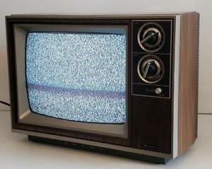 "13"" Sears TV Vintage CRT Woodgrain CR SR 2000 August 1984 564-40265450 Retro"