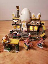 Dept 56 Storybook Village - Humpty Dumpty Cafe Nib Easter Egg Department 56