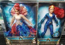 Mattel Barbie Signature DC Multiverse Aquaman Movie MERA AMBER HEARD IN STOCK