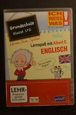 Ich weiss was! Lernspaß mit Albert E. Englisch Grundschule 3+4 CD-ROM