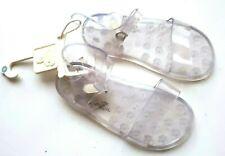GAP Girls Clear Jelly Sandals Shoes Summer Sandals Kids Girl Beach UK 8 NEW
