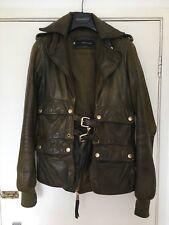 DSQUARED Women's Leather Jacket Size IT 40