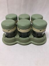 Magic Bullet Baby Bullet Date/Dial Storage Cups & Lids w/Tray Replacement Part
