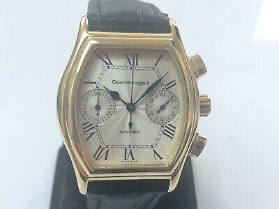 Girard Perregaux Richeville Ref. 2750 18k Yellow Gold Chrono Wristwatch