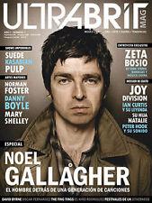 Noel Gallagher - Oasis - Ultrabrit Magazine #1 October/November 2012 Argentina