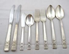CORONATION by Oneida Community Silverplate Flatware 4 SERVERS + Dinner Forks +