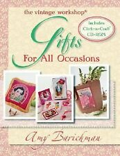 The Vintage Workshop : Gifts for All Occasions by Amy Barickman (2004, CD-ROM /