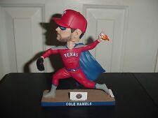 Texas Rangers COLE HAMELS Super Hero Bobblehead 6/3/17  FREE SHIPPING !!!