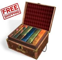 NEW 7 Harry Potter Hardcover Books Complete Series Collection Box Set Lot Gift