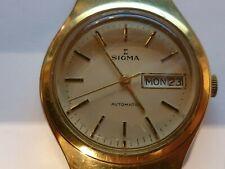 Gents Sigma Automatic Day Date Swiss Watch