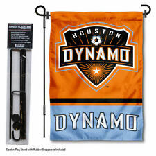 Houston Dynamo Garden Flag and Yard Pole Stand Included