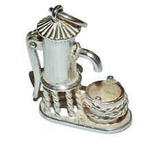Sterling Silver Traditional 'WATER PUMP' Charm/Pendant