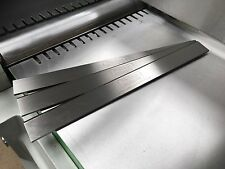Axminster AW106PT2 250mm HSS Resharpenable Planer Blades 3Pcs - GENUINE QUALITY