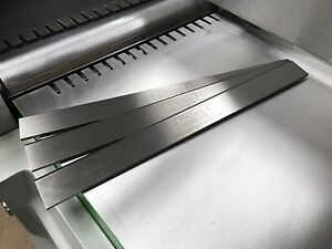 Axminster AC250PT 250mm HSS Resharpenable Planer Blades 3Pcs GENUINE QUALITY