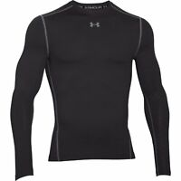 Men's Under Armour ColdGear Armour Compression Crew Long Sleeve Black/Steel