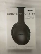NEW IN SEALED BOX- Bose QuietComfort QC35 Wireless Headphones in Black