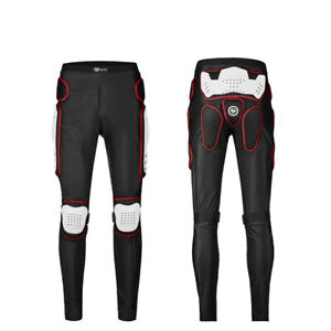 Hot Motorcycle Armored Pants Extreme Sport Hip Knee Leg Protective Gear Trousers