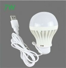 5V low-voltage light led energy-saving Home Camping emergency bulbs 7W USB bulb