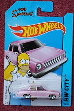 2015 Hotwheels - Simpson's Family car