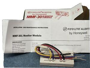 Honeywell Fire-Lite MMF-301 Addressable Fire Alarm Mini Monitor Module