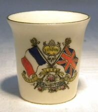 1900-1919 (Art Nouveau) Date Range Unmarked Crested China