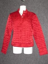 GAP Red Polyester Quilted Winter Ladies Jacket SZ M NEW