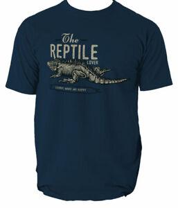 Lizard mens t shirt Reptile animal top S-3XL