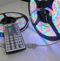10M 32FT 3528 Waterproof SMD RGB 600LEDs LED Light Strip 44Key IR Remote Control