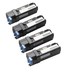 Set of 4 Toner Cartridge For Dell Printer 1320 1320C 1320CN