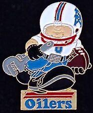 Huddles ~ Houston Oilers Lapel Pin / Badge ~ NFL ~ 1980's vintage ~ Football